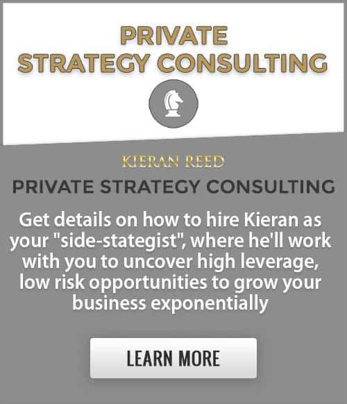 Private Strategy Consulting Homepage Button - KieranReed